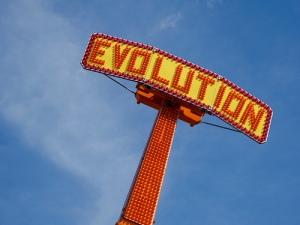 Evolution - The Ride! by Flickr user kevindooley