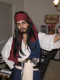 Chad probably ran into a few other Captain Jack Sparrows that year, but only he can do a spot on Johnny Depp impression