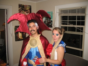 Extra points for creativity. Dr. Strange and Sailor Moon!